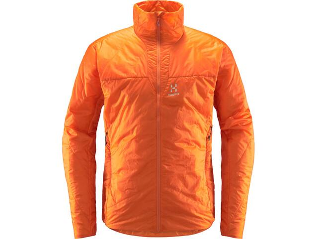 Haglöfs L.I.M Barrier Jacket Men flame orange